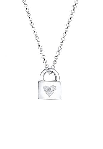 Elli Moderne Perlen Halskette aus 925er Sterling Silber