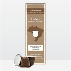 20% OFF Toast Brazilian Nespresso Compatible Coffee Pods 10 per pack from Toast Coffee Pods