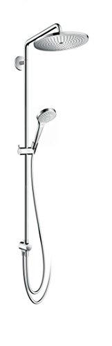 Hansgrohe Duschsystem (hansgrohe Croma Select 280 Air wassersparendes Reno Duschsystem, 4 Strahlarten, chrom)