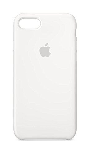 Apple Silikon Case (iPhone 8 / iPhone 7) - Weiß