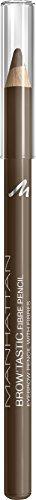 MANHATTAN Brow'Tastic Fibre Pencil, Augenbrauenstift, Farbe 002 Medium, 1er Pack (1 x 1 g)