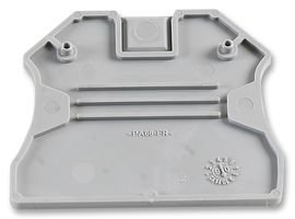 TERMINAL BLOCK, END PLATE, 2.5-10MM 3047028 By PHOENIX CONTACT Phoenix Contact Terminal Block