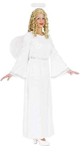 Fancy Me Damen Kostüm Engel Gabriel Weihnachten Weihnachten Krippe Bibellische Religiöse Weiße Fee Kostüm Outfit 8-18 (Engel Krippe Kostüm)