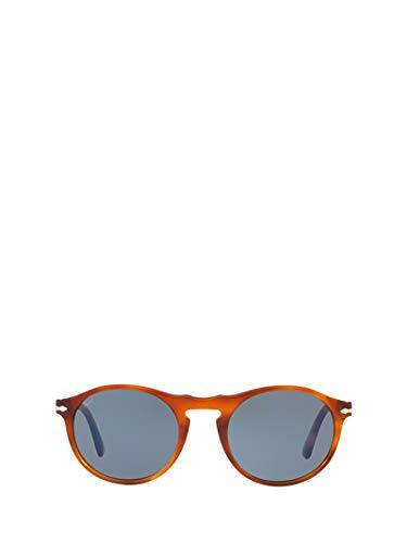Persol Herren Po3204s9656 Braun Acetat Sonnenbrille