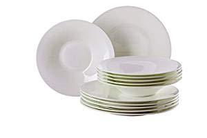 Hutschenreuther - Nora - Weiß - Pasta-Set - Bone China Porzellan - 5-teilig Hutschenreuther Set