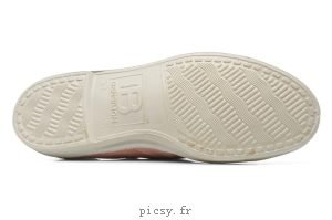 Bensimon F15004c157, Baskets Basses Femme Rose grisé
