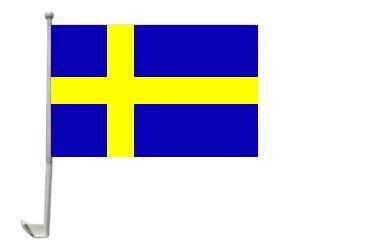 Autoflagge Schweden 30 x 40 cm