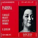 Donizetti: Parisina (New York 1974) by Montserrat Caballe