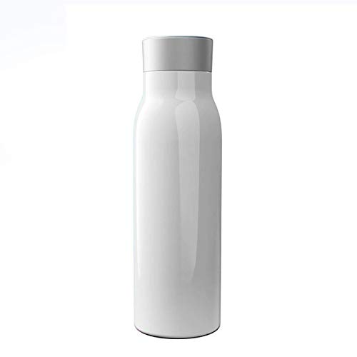 RMXMY YAYZA! Doppelwandige vakuumisolierte Edelstahl-Thermo-Flasche des Cup-G2, LED-Touchscreen für Wassertemperaturanzeige und Trinksystem, Unterstützung für iPhone/iPad/iPod-App-Administration, Bayern Tee-set