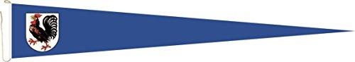 Haute Qualité pour U24 Long Fanion Drapeau Seelze 250 x 40 cm