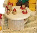 Rlke Holzspielzeug 22695 - Tavolino da salotto Filius