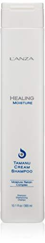 Lanza Healing Moisture Tamanu Cream Shampoo 300 ml Verleiht Feuchtigkeit, Elastizität & Glanz