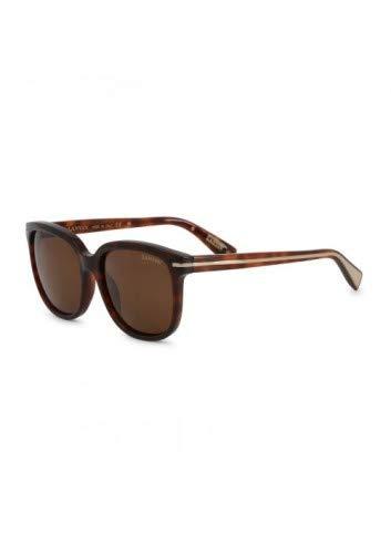 Unbekannt Damen Lanvin Sonnenbrille in Braun Model: SLN756M