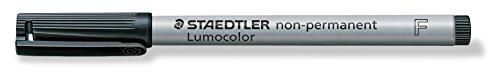 Staedtler - LumoColor 316 - Feutre Non-Permanent Pointe Fine 0,6 mm Noir