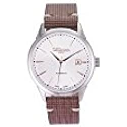 Automatic man wrist watch with white dial ALTANUS 7961-M