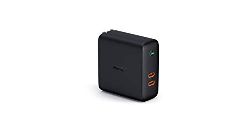 "AUKEY Chargeur USB C 60W, Chargeur Mural USB C avec USB Power Delivery & Dynamic Detect pour 13"" MacBook Pro, iPhone XS/XS Max/XR, Pixel 3 / 3XL, Nintendo Switch etc."