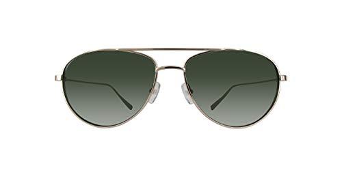 Ermenegildo zegna ez0072-32n-gold occhiali da sole, oro (gold), 59.0 uomo