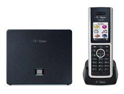 T-Com Sinus 501V Schnurlostelefon (Headset-Anschluss, Bluetooth) schwarz