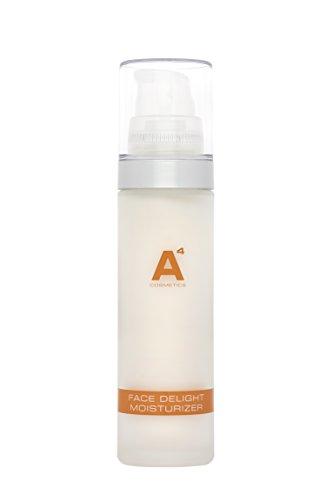 A4 - FACE DELIGHT MOISTURIZER | Feuchtigkeitspflege für jeden Hauttyp | Pflegende Feuchtigkeitscreme | Gesichtspflege schnell einziehend | auch für Mischhaut oder junge Haut (50ml) (Vitalisierende Emulsion)