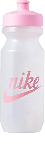 Nike Unisex-Erwachsene Big Mouth Bottle 2.0 22 OZ / 650ml Trinkflasche, Clear PINK Rise, One Size
