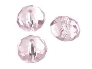 CB CrystalStar Pearl Radl Collana di perle multicolore, 9 x 12 mm, 22 perline, Rosa 14