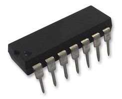 LOGIC, QUAD 2-IN NAND GATE, 14DIP SN74LS00N By TEXAS INSTRUMENTS