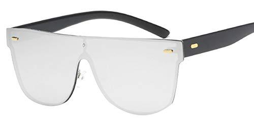 Deaman Mode Polarisierten Sonnenbrille Großer Rahmen Unisex Harz Eyewear Classic Mirror Brillen Vintage Flacher Spiegel