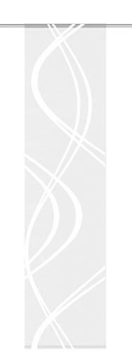 Home Fashion Schiebewand, Stoff, Weiß - Stoff Schiebewände