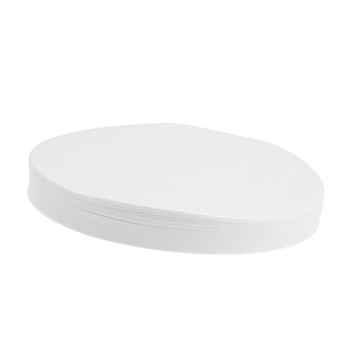 MagiDeal 100 Stücke Labor Filterpapier Aschefreie Quantitativ Filter Papier Scheibe Laborfilter 80um-120um 18cm (Labor-filter-papier)