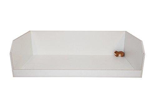 Nagerkäfig, Gehege, Käfig, Stall für Meerschweinchen ++ XL 132cm Lang ++schneeweiß - 2