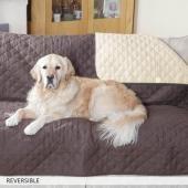 Copertura impermeabile per sedie e divani reversibile, protezione , poliestere, red, 1