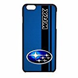subaru-wrx-logo-on-a-field-of-simulated-blue-carbon-fiber-with-negro-stripe-iphone-6-case-iphone-6s-