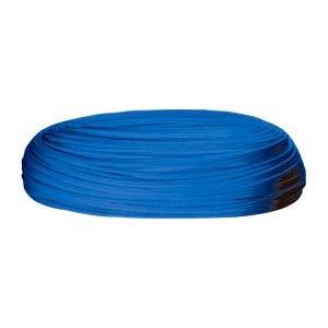 20 m Stück, Side by Side, Kühlschrankschlauch, 6 mm Wasserschlauch Blau, 1/4 Zoll (6mm) für Side by Side Kühlschrank, Kühlschrankschlauch, 20 m am Stück, Farbe : BLAU, Wasserfilter, Osmoseschlauch