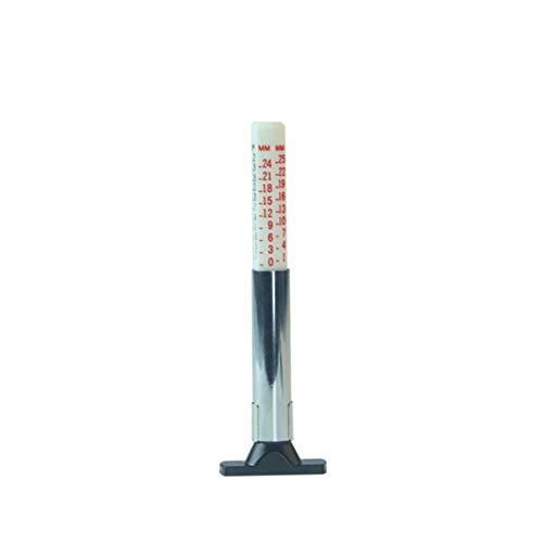 Leicht 1Pcs Reifentiefenmesser Autoreifen Reifen Tiefenmesser Autoreifenprofil Tiefenmesser Sattel tragen