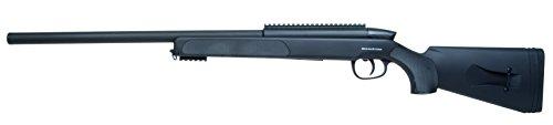 r-maxx SR-2 Sniper Federdruck <0.5 Joule Kaliber 6mm Airsoft Gewehr, schwarz, 110 cm