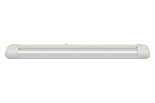 Paulmann 750.50 Function Slimline Schmalformleuchte 1x15W G13 Weiß 230V Metall/Kunststoff 75050  Schrankbeleuchtung Lichtleiste Küchenschrankleuchte Arbeitsflächenbeleuchtung Unterschranklicht -