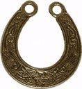 Glücksbringer/Amulett/Talisman/Symbol/Schmuck: HUFEISEN Anhänger (Glück und Schutz) mit Weiheanleitung