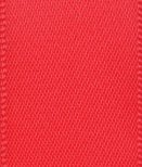 Club Green Doppel-Satinband, rot, 3 mm x 25 m (Double Red Satinband Sided)