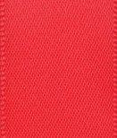 Club Green Doppel-Satinband, rot, 3mm x 25m (Double Sided Red Satinband)