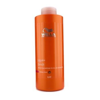 Wella - Enrich Moisturizing Conditioner For Dry &Amp; Damaged Hair (Normal/Thick) 1000Ml/33.8Oz - Soins Des Cheveux