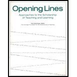 opening-lines-approaches-to-the-scholarship-of-teaching-and-learning-by-carnegie-foundation-for-the-