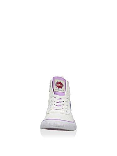 COLMAR SCARPA SNEAKER BAMBINA BIANCO E ROSA ART. DURDEN CARIOCA 216 White/Pink