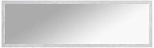 Espejo de pared Mirror Shabby Chic, 40 x 125 cm, color gris