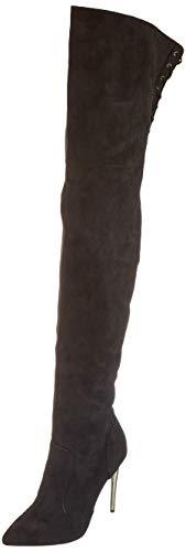Buffalo Damen Fiete Overknees, Schwarz (Black 001), 37 EU
