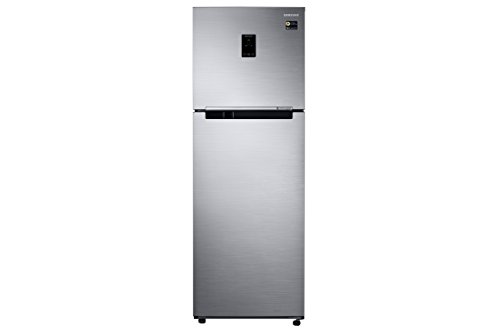 Samsung 345 L 3 Star Frost-Free Double-Door Refrigerator (RT37M5538SL/HL, Real...