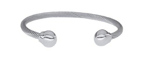 Sabona Magnetarmband OF LONDON® Magnetschmuck, Magnet-Powerarmband Twist mit Silberkugeln, Premium Qualität & Design seit 1963
