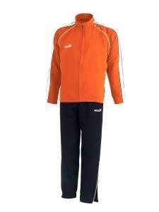 jako Attack Polyester Präsentations Anzug Trainingsanzug orange 9564-19 / 164