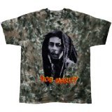 T-Shirt Bob Marley - Look Tie Dye - Homme - Large - Import Direct USA (Marley-tie Bob Dye)