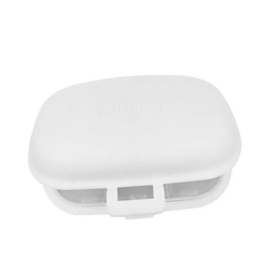Kunststoff-pille (Censhaorme 8 Grid-Pille-Halter-Speicher-Organisator Schmuck Perlen Kunststoff-Behälter-Kasten Kleine Objekte Reisen Pill Box)