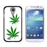 Graphics and More Marihuana Blatt Blätter Topf Weed Sony Hart Schutzhülle für Samsung Galaxy S4–Umständen Verpackung–Schwarz (S4 Galaxy Verizon Telefon)